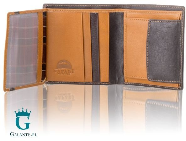 Mały portfel męski safari lichfield 2035-46