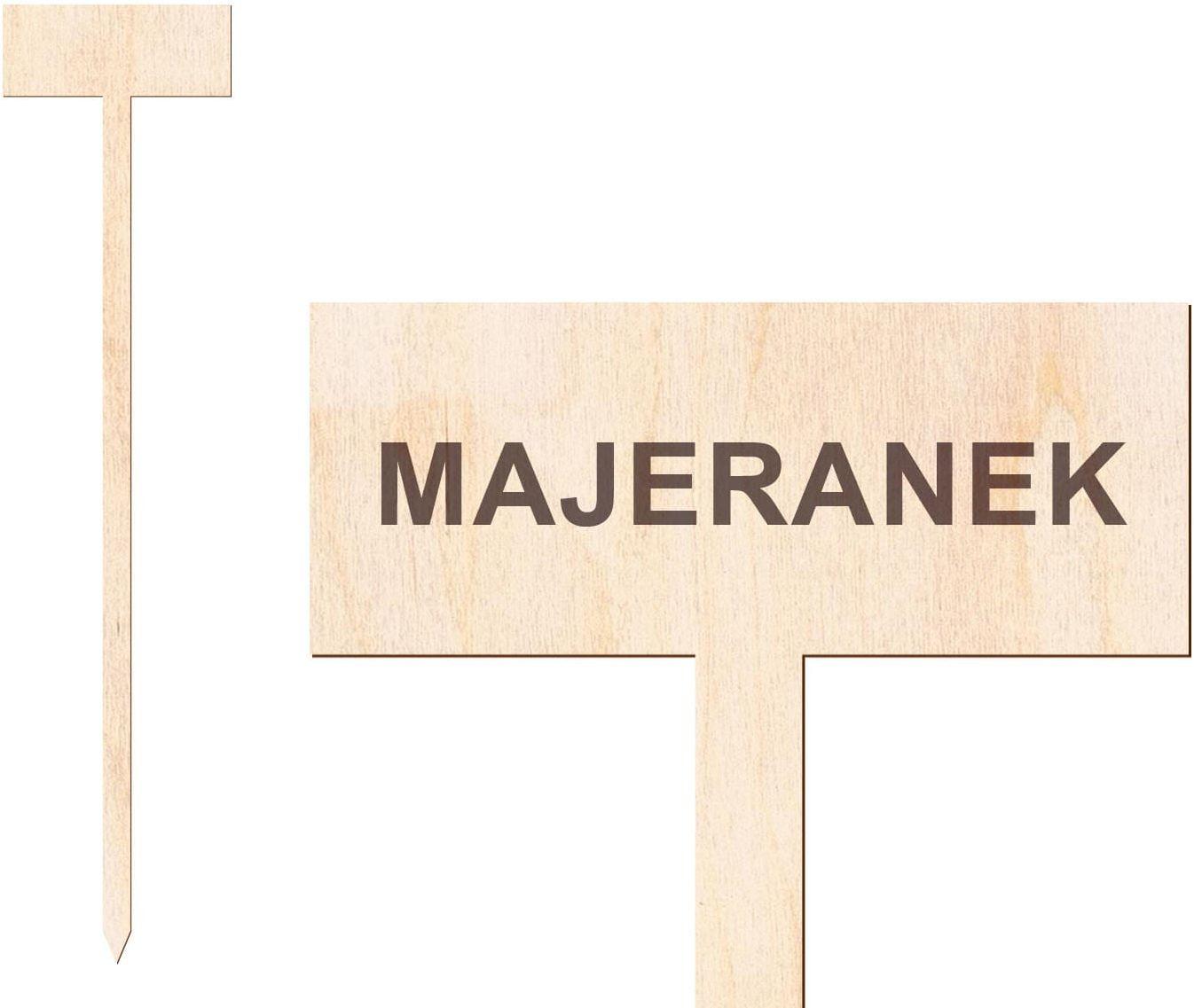 Tabliczka do oznaczania roślin Majeranek - 1 szt.