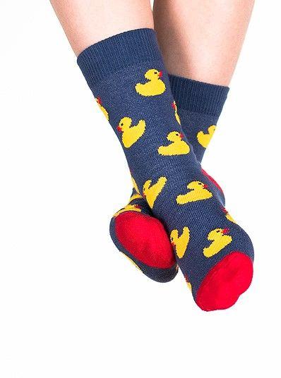 Skarpety kolorowe dla dzieci Nanushki Just Ducky kaczuszki