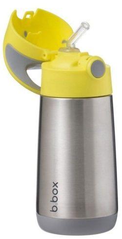 Bidon termiczny ze słomką 350 ml Lemon Sherbet b.box