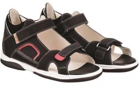 MEMO CAPRI 1LA sandały buty profilaktyczne czarne