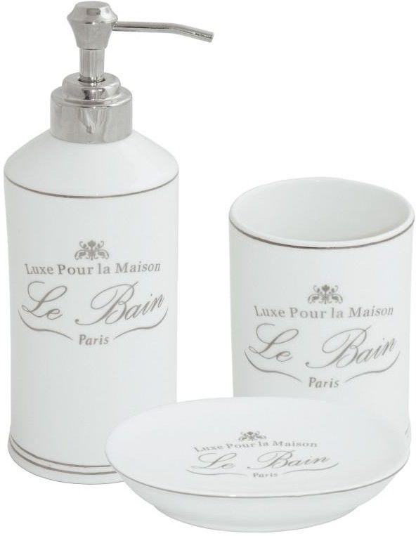 Komplet łazienkowy LE BAIN 3 elementy
