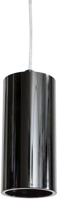 Lampa wisząca Kika S Orlicki Design minimalistyczna oprawa w kolorze czarnego chromu