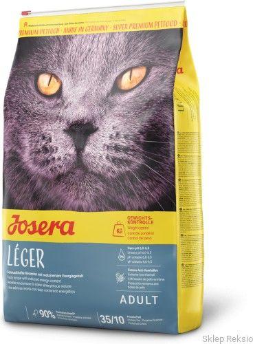 JOSERA Leger - dla kotów z nadwagą i sterylizowanych 10kg