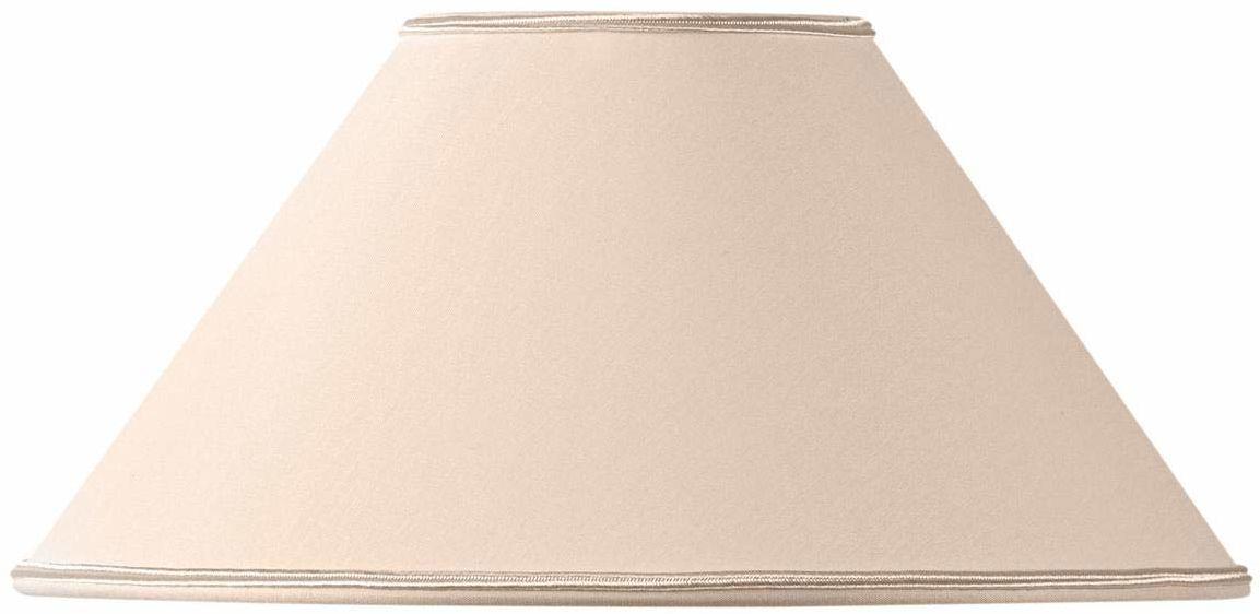 Klosz lampy w kształcie retro, 30 x 10 x 17 cm, beżowy/różowy