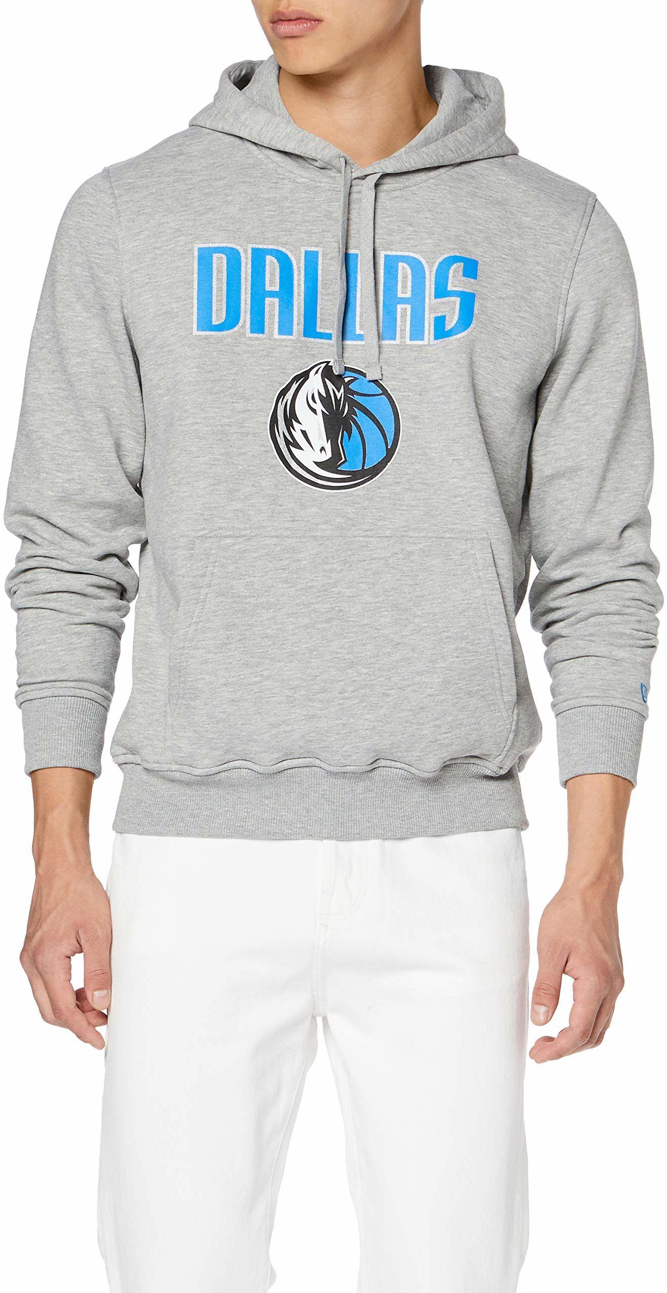 New Era Męski sweter z kapturem Boston Celtics, szary, rozmiar XL, 11546182