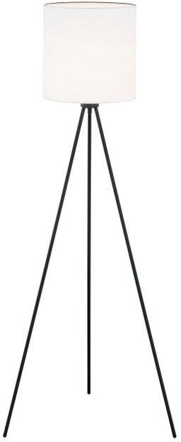 Lampa podłogowa Hilary 4084 Argon nowoczesna oprawa w kolorze czarnym