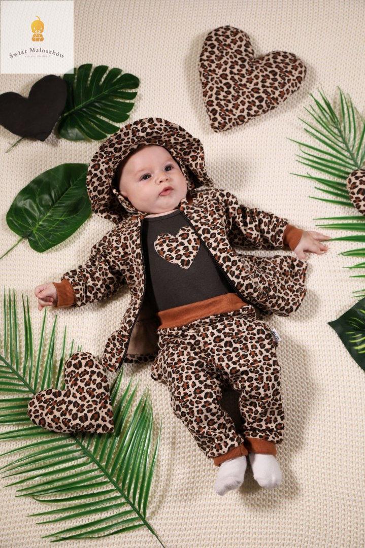 Mia Spodnie niemowlęce dresowe NICOL r. 56-122