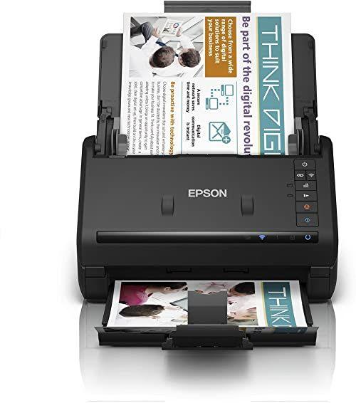 Epson Workforce ES-500WII dwustronny skaner Wi-Fi o wysokiej prędkości automatyczny Duplex i ADF