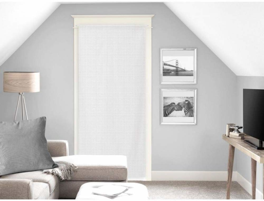 Soleil d''Ocre Noemie zasłona, woal, poliester, biały, 70 x 200 cm