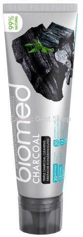 Splat BIOMED CHARCOAL - wybielająca pasta do zębów z trzema rodzajami węgla aktywnego 100g