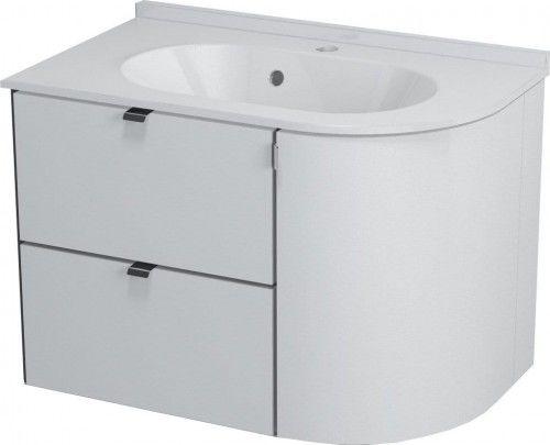 Szafka umywalkowa 75x52x45 cm Biała