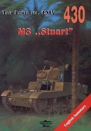 M3 Stuart. Tank Power vol. CXLV 430 - Janusz Ledwoch