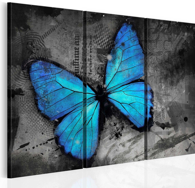 Obraz - studium motyla - tryptyk
