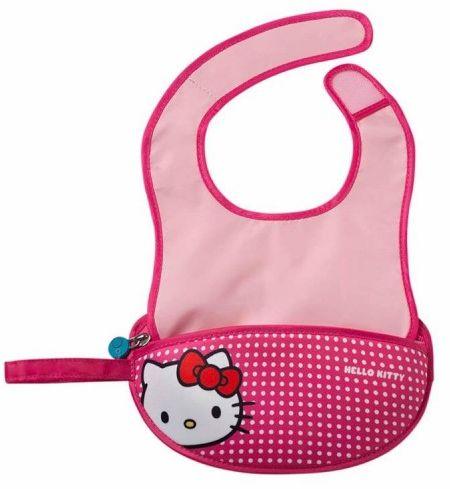 Śliniak dla niemowlaka w saszetce Hello Kitty Pop Star b.box