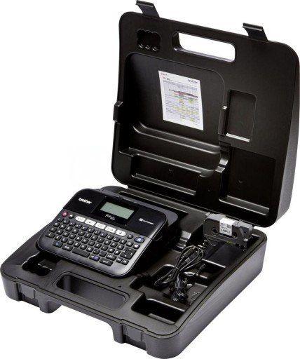 Drukarka etykiet Brother PT-D450VP zestaw z walizką KUP z zamiennikami i oszczędzaj! - ZADZWOŃ 730 811 399