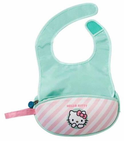 Śliniak dla niemowlaka w saszetce Hello Kitty Candy Floss b.box