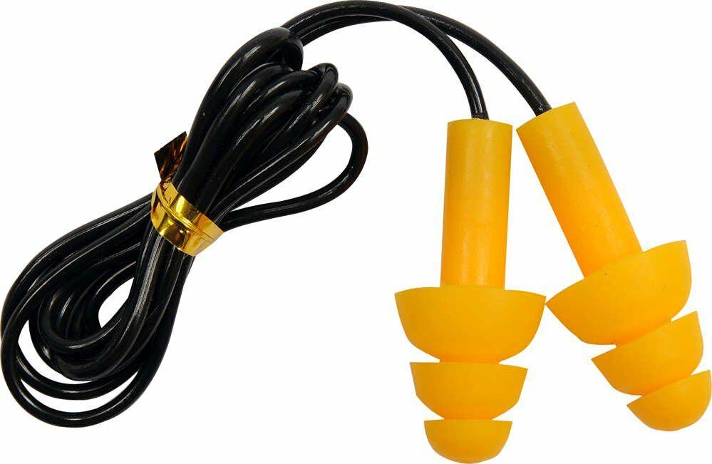 Zatyczki do uszu, silikonowe ze sznurkiem, SNR 28 dB, 50 par. Yato YT-7456 - ZYSKAJ RABAT 30 ZŁ