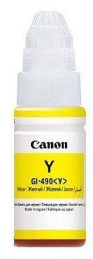 Tusz CANON GI-490 Żółty