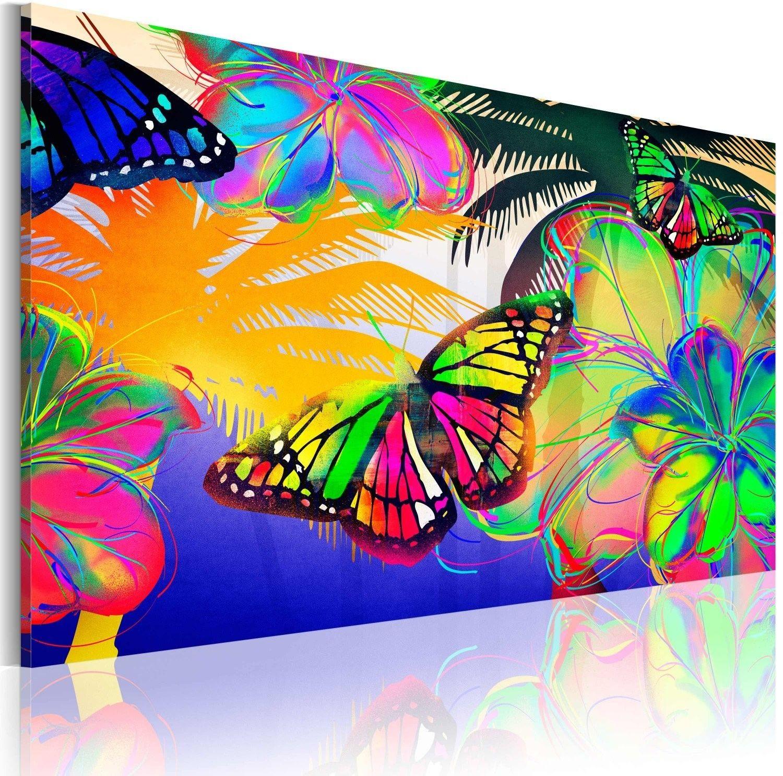 Obraz - egzotyczne motyle