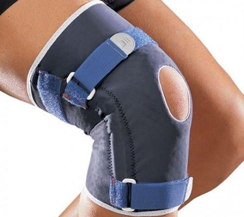 Orteza kolanowa z bocznymi wzmocnieniami przegubowymi 0335