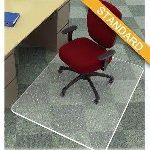 Mata pod krzesło Q-Connect, na dywany, 150x120cm, prostokątna /KF15899/
