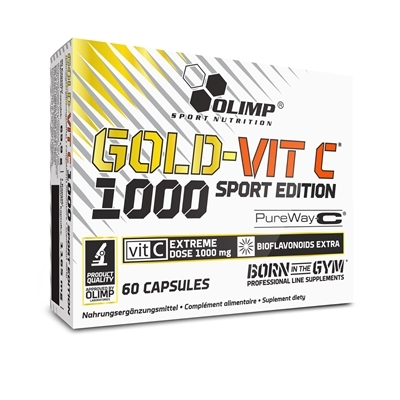 Gold-Vit C 1000 Sport Edition 60caps