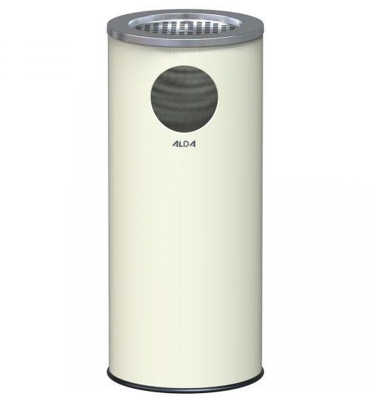 Koszopopielnica MARCO 33L metalowa biała