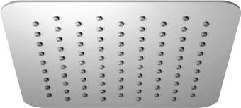 Omnires Ultra Slimline deszczownica ze stali nierdzewnej 20x20cm chrom WGU220CR