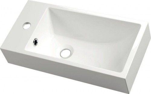 Umywalka kompozytowa 50x10x25cm Lewa, Mała umywalka