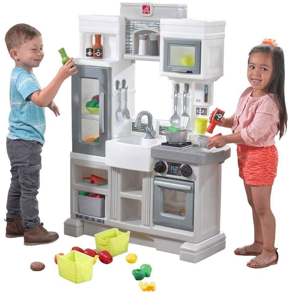Elektroniczna Kuchnia Dla Dzieci 24 Akc. Miejska Step2