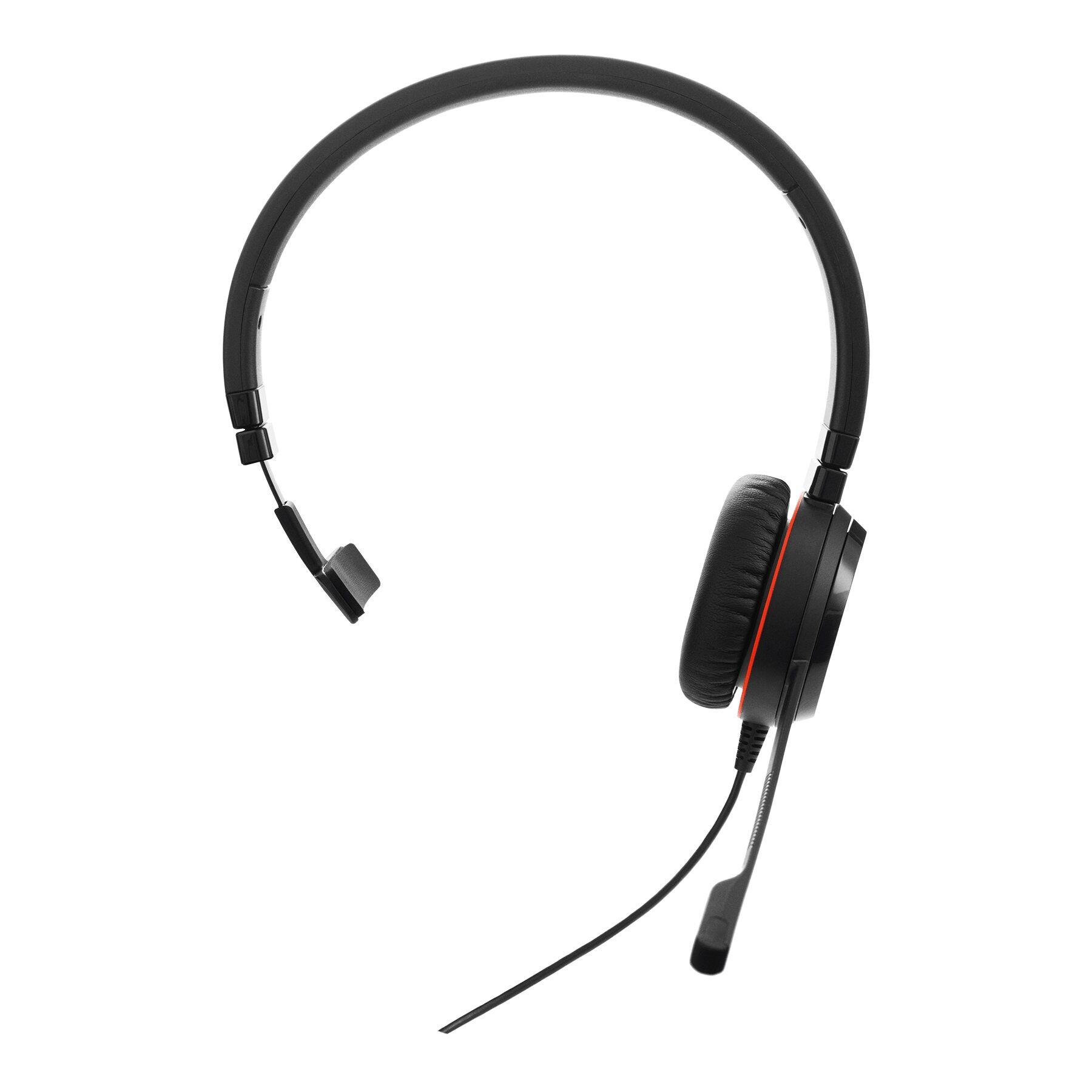 Jabra Evolve 30 II Mono MS Zestaw nagłowny przewodowy na jedno ucho