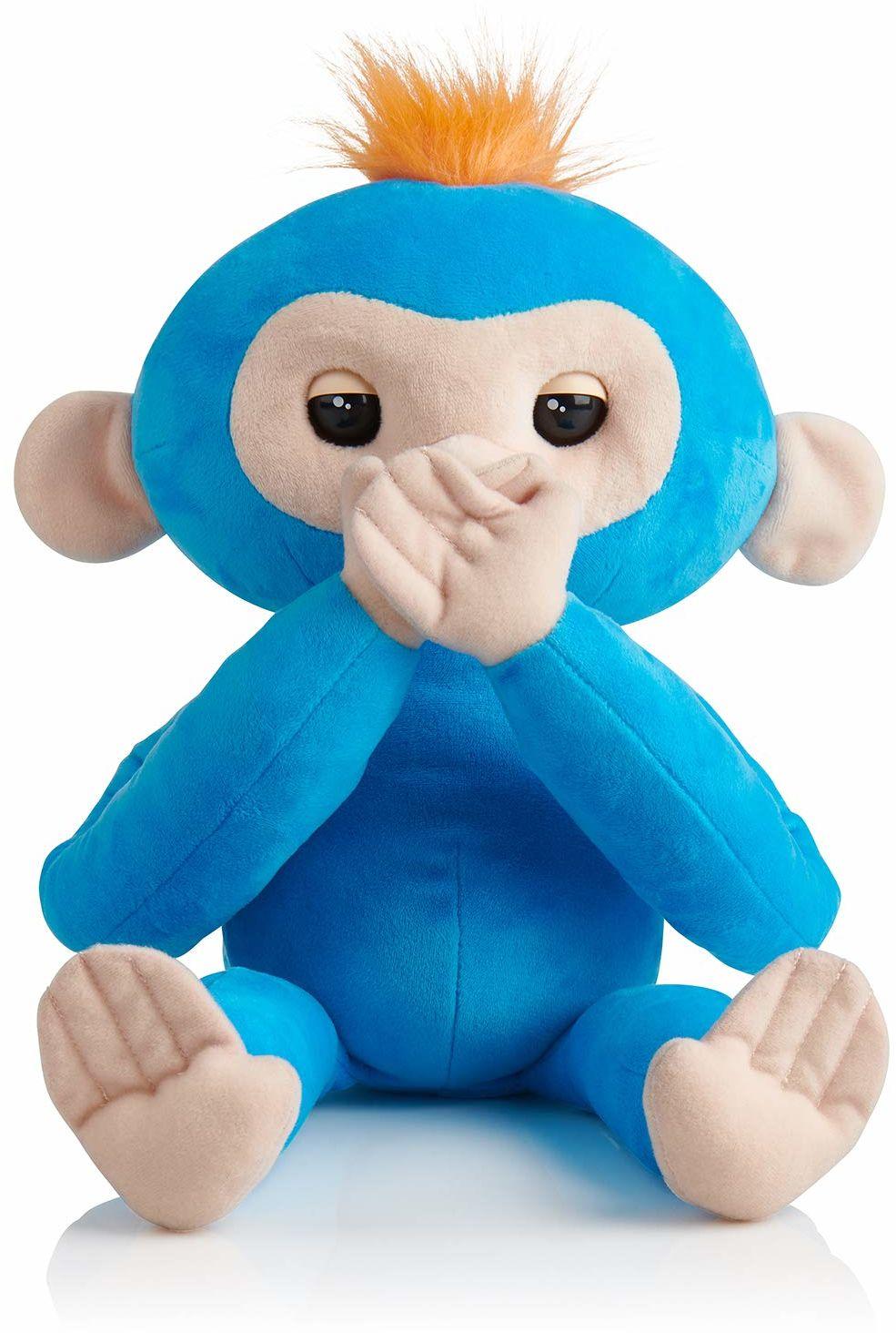 Śpiaki z palcami  BorIS  przyjazna interaktywna pluszowa zabawka dla małpki  od WowWee
