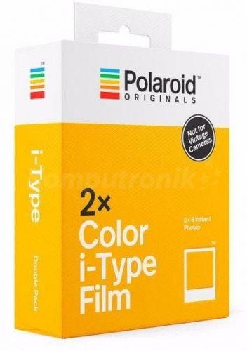 Wkłady Polaroid i-Type kolor 2-pack (2x8 zdjęć ) do aparatu OneStep, OneStep+, Now