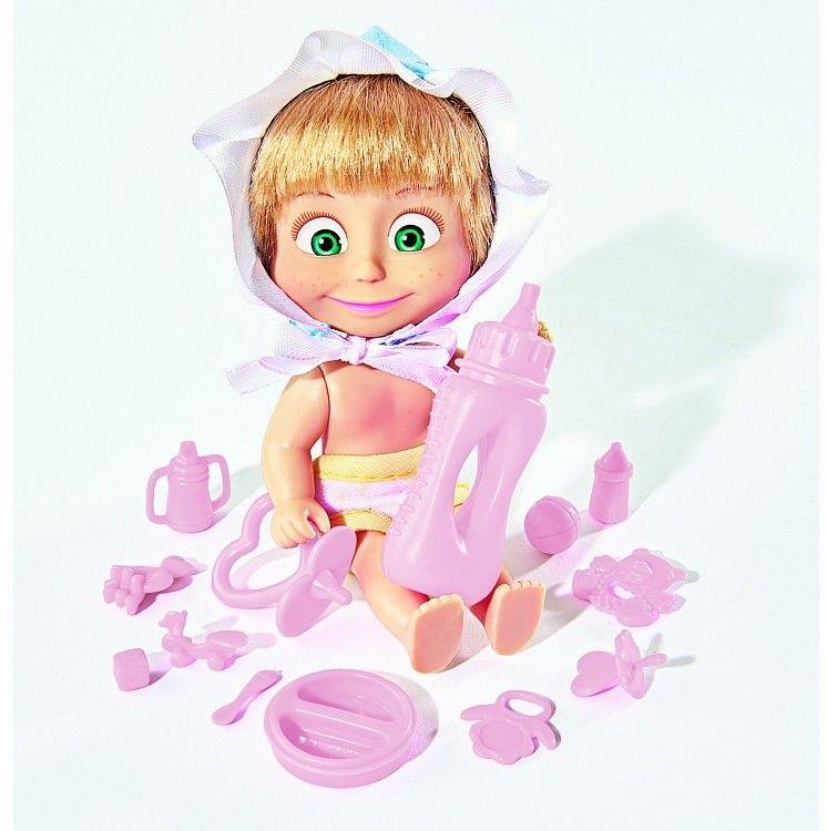 Simba, Masza i Niedźwiedź, lalka Masza w stroju dziecka