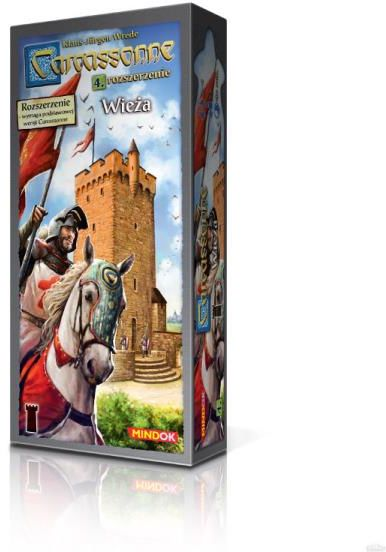 Carcassonne: Wieża ZAKŁADKA DO KSIĄŻEK GRATIS DO KAŻDEGO ZAMÓWIENIA