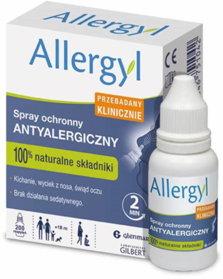 Allergyl spray do nosa 200 dawek