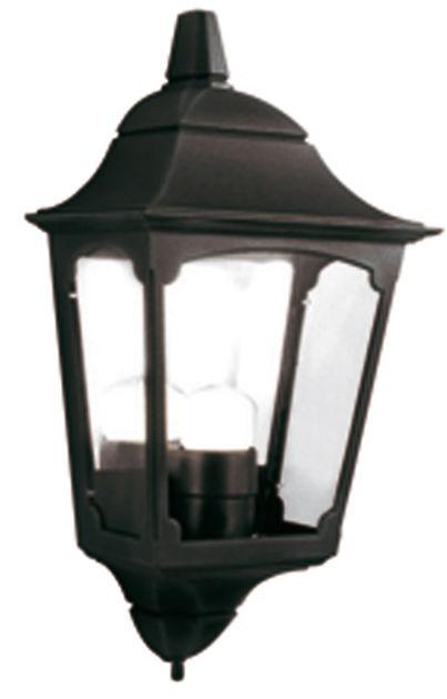 Kinkiet zewnętrzny Chapel CP7/2 BLK Elstead Lighting klasyczna oprawa w kolorze czarnym