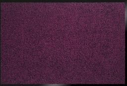 ID Matt 8012013 Mirande dywan wycieraczka włókno nylon/PCW gumowana śliwka 120 x 80 x 0,9 cm