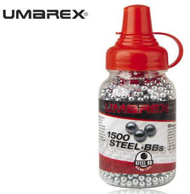 Śrut UMAREX kulki stalowe BB''S 1500 szt. - 4,46 mm
