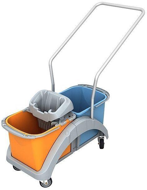 Wózek do sprzątania dwuwiadrowy Splast TS2-0018 z rączką