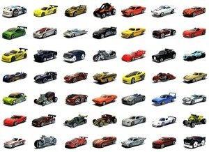 Mattel Hot Wheels mały samochodzik 5785