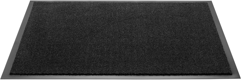 F & S Spectra Premium wycieraczka 80 x 120 cm wytrzymała i nadająca się do prania Kolor: antracyt Made in Europe