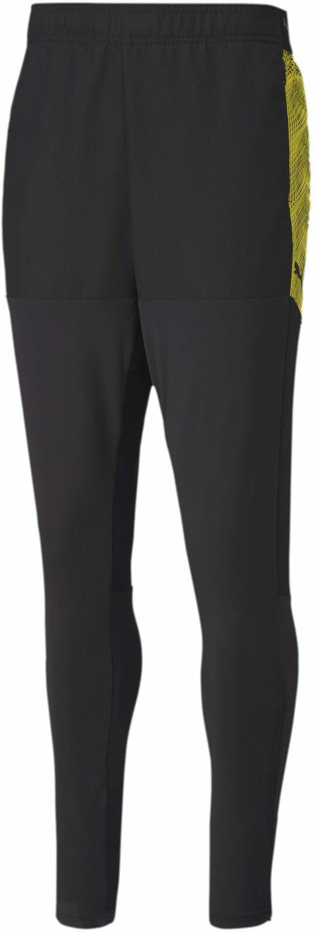 PUMA męskie spodnie dresowe Ftblnxt Pro Puma Black-ultra Yellow XXL
