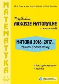 Przykładowe arkusze maturalne 2016/2017 z matematyki zakres podstawowy
