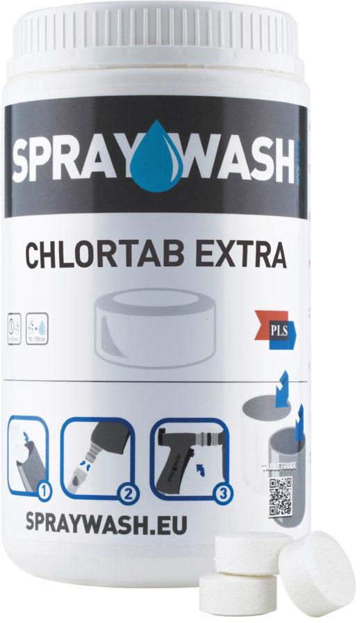 SprayWash ChlorTab Extra- dezynfekcja chlorem