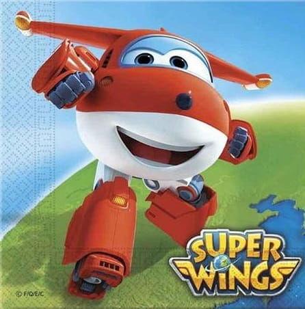 """Serwetki papierowe """"Super Wings"""""""