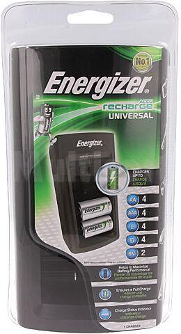 Ładowarka ENERGIZER do akumulatorów Ni-MH 6F22, R03, R14, R20, R6