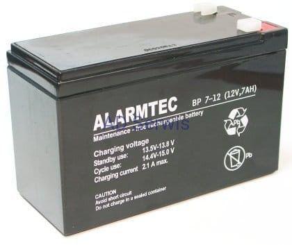 ALARMTEC BP 7-12 Akumulator 12V 7Ah