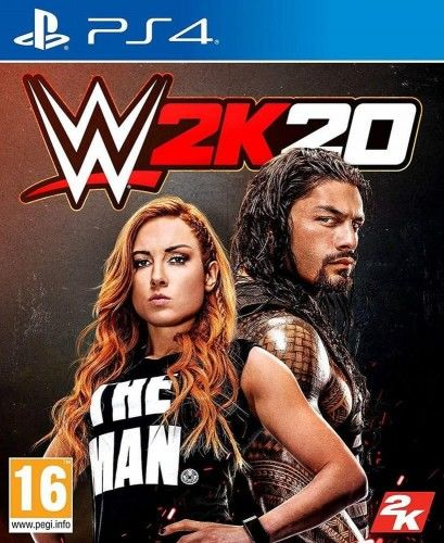 WWE 2K20 PS 4